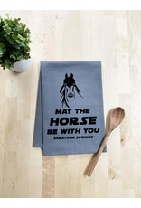 Tailgate and Party Original Dishtowel - May the Horse Be With you