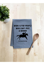 Tailgate and Party Original Dishtowel Work is for People Who Can't Pick a Winner