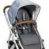 UPPABaby UB Reversible Seat Liner - Reed (denim/cozy knit)