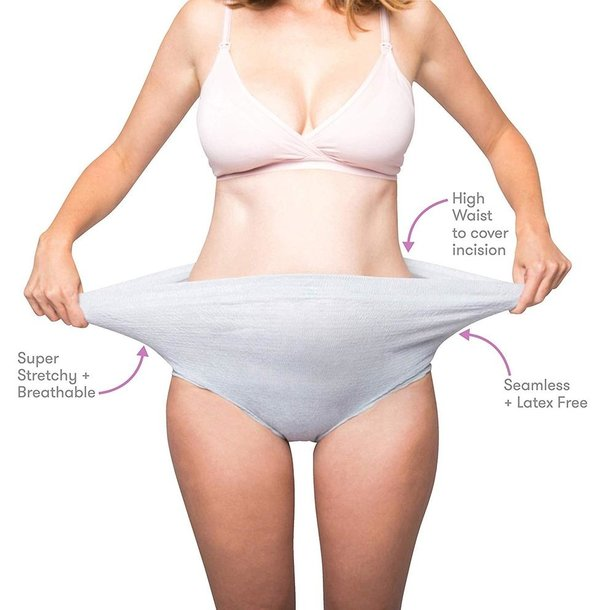FridaBaby Fridamom: Disposable High-Waisted Post Partum Underwear -8ct