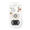 Doddle & Co Pop & Go Pacifier - Twin Pack
