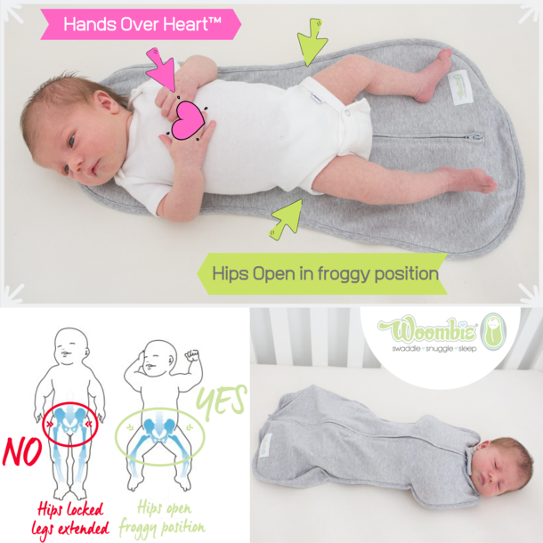 Woombie Woombie Grow With Me Swaddle