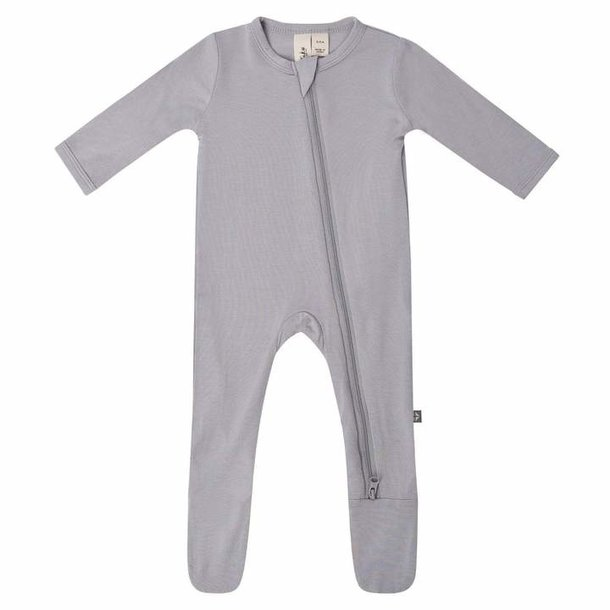 Kyte Clothing Kyte Zipper Footie - Neutrals