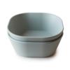 Mushie Square Bowl Set - 2pk