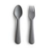 Mushie Mushie Fork & Spoon Set
