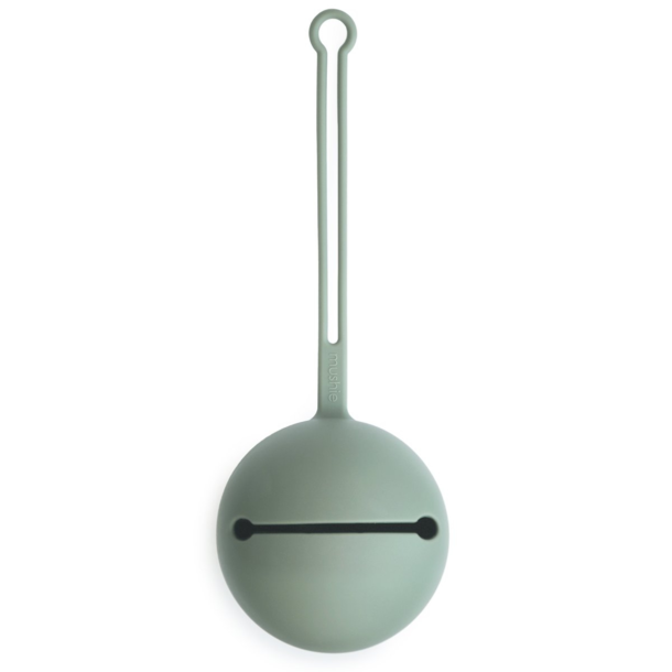 Mushie Mushie Pacifier Holder (Silicone)