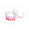 "Lilies & Roses ""Sister"" Acrylic Bracelet/Bangle"
