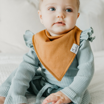 "Copper Pearl CP Bandana Bib - ""GIRL"""