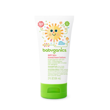 BabyGanics Sunscreen Lotion - SPF 50+ (6oz)