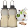 Haakaa Silicone Reusable Milk Storage Bag Set