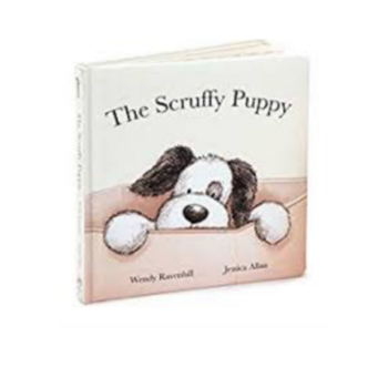 Jellycat Jellycat Book: Scruffy Puppy
