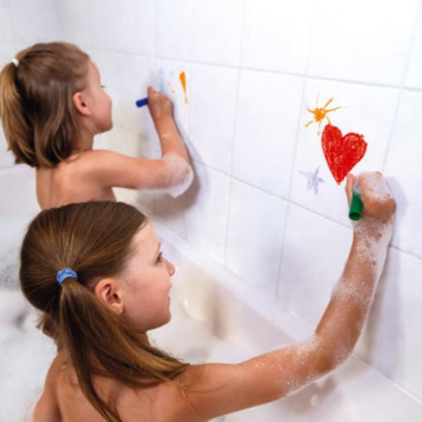 Juratoys Coloring In The Bath