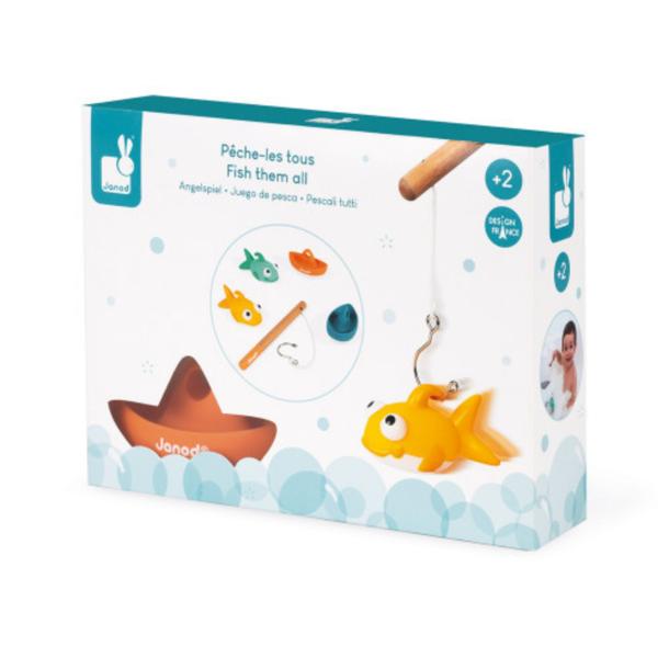 Juratoys Bath Toy: Fish Them All!