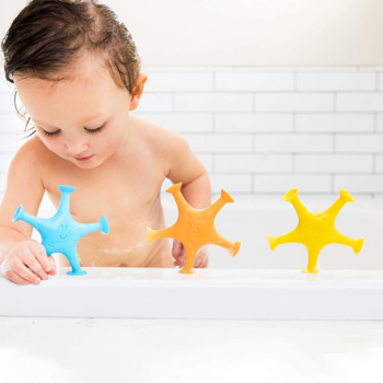 Ubbi Starfish Suction Bath Toys