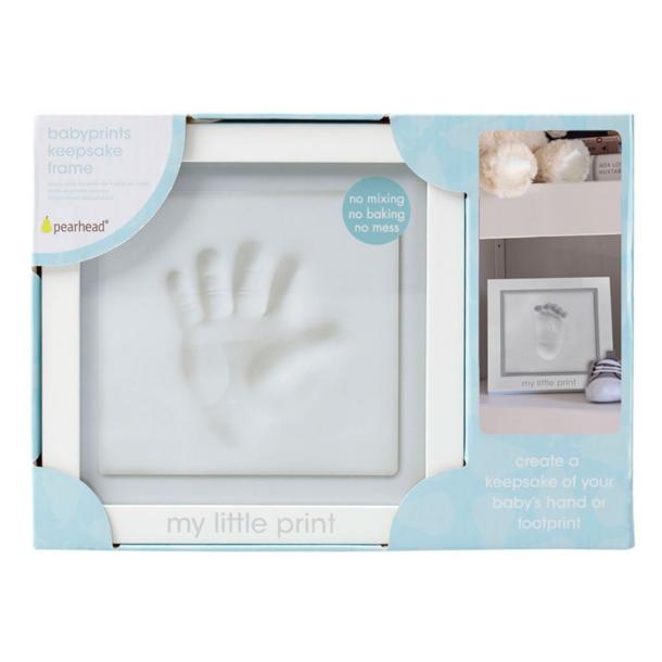 Pearhead Baby Prints Clay Keepsake Frame
