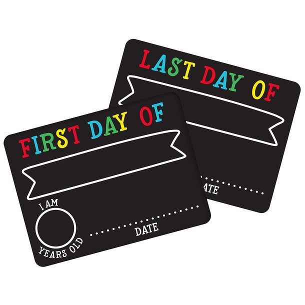 Pearhead First Day/Last Day Chalkboard Rectangle