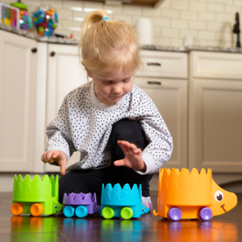 Fat Brain Toys Hiding Hedgehogs Toy