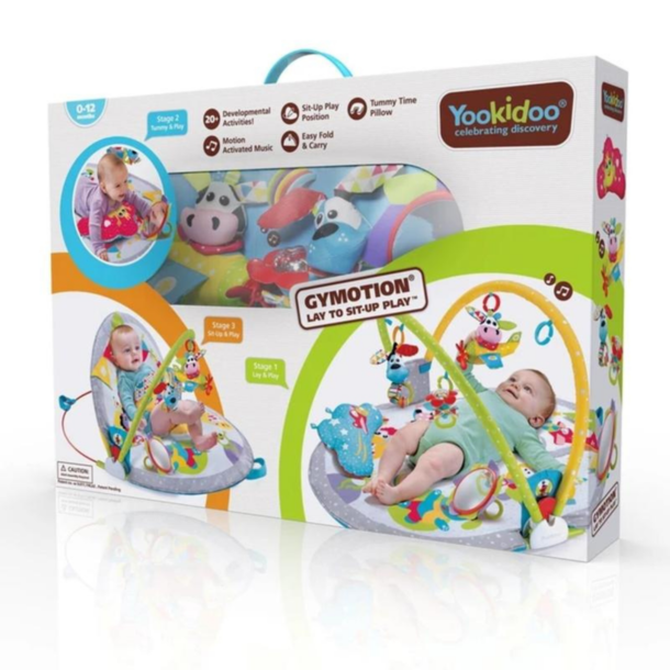 Yookidoo Gymotion Lay to Sit-Up Play Center