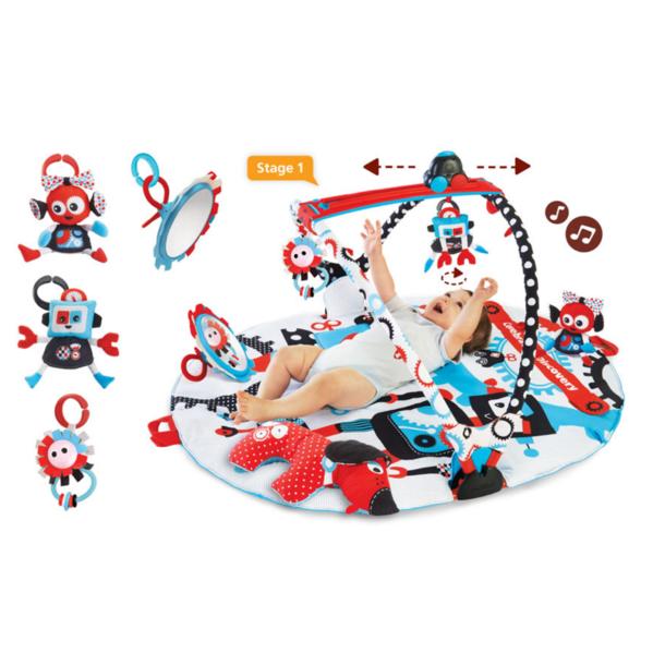 Yookidoo Gymotion Robo Playland Activity Gym