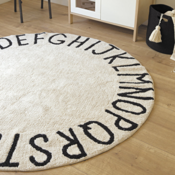 Lorena Canals Washable Rug: Round