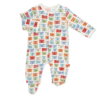 "Magnificent Baby Magnetic Footie - Modal: ""Neutral"""