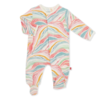"""Magnificent Baby Magnetic Footie - Modal: """"Girl"""""""