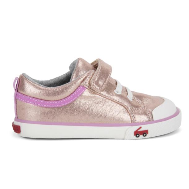 See Kai Run Kristin Shimmer Velcro Sneaker