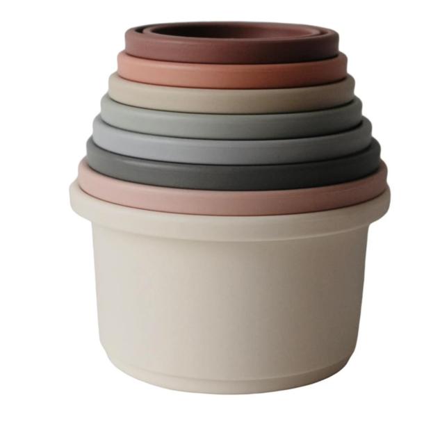 Mushie Mushie: Stacking Cups