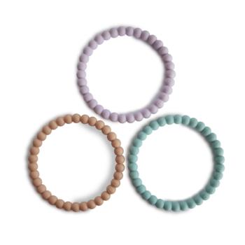 Mushie Pearl Teething Bracelet for Baby