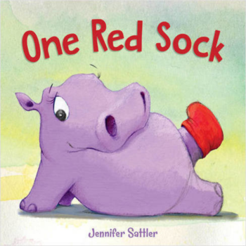 Cherry Lake Publishing Book: One Red Sock (Board Book)