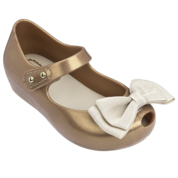 Melissa Shoes Mini Melissa: Ultragirl Grosgrain Bow