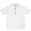 Rufflebutts White Polo Shirt
