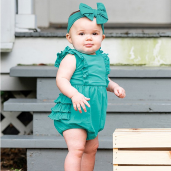 Rufflebutts Baltic Waterfall Bubble Romper