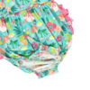 Rufflebutts Flower Patch Waterfall Bubble Romper
