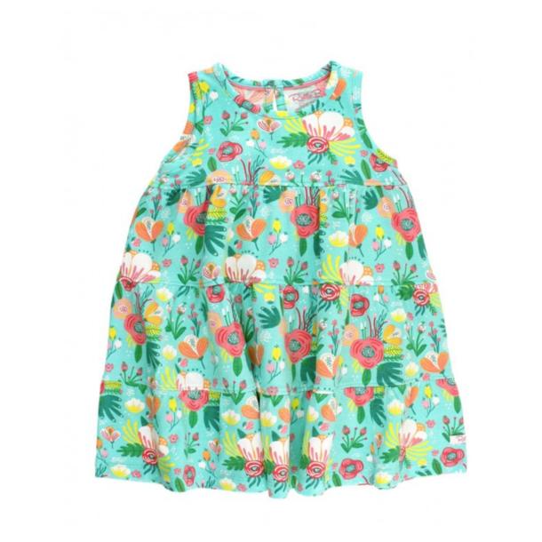 Rufflebutts Flower Patch Tiered Dress