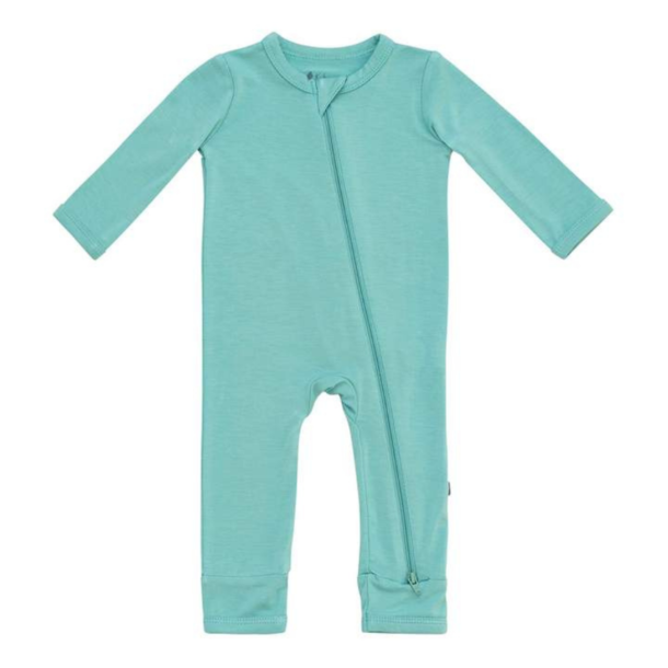 Kyte Clothing Kyte Zipper Romper - Long Sleeve