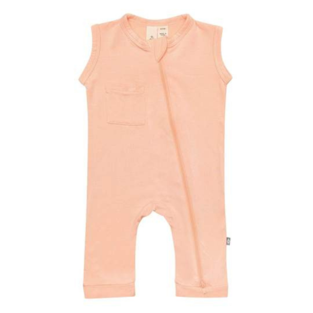 Kyte Clothing Kyte Zipper Romper - Sleeveless