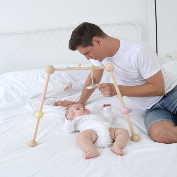 Plan Toys Wooden Activity Baby Gym
