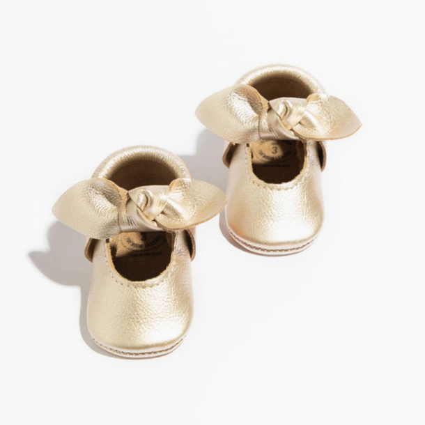 Freshly Picked Baby Bow Moccasins