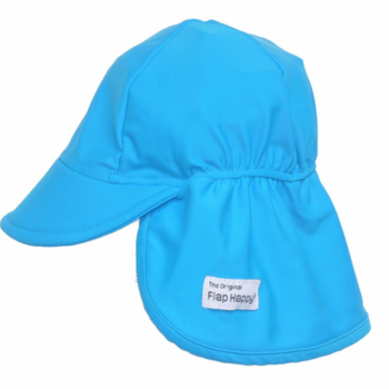 Flap Happy Swim Fabric Flap Hat