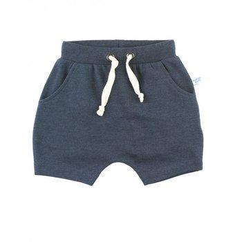 Rufflebutts Heather Navy Jogger Shorts