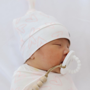 Copper Pearl Cp Top Knot Hat - Girl