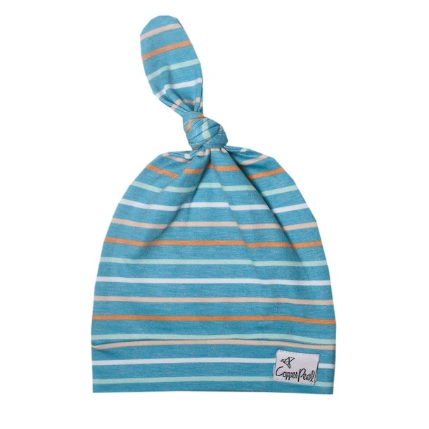 Copper Pearl Cp Top Knot Hat - Boy