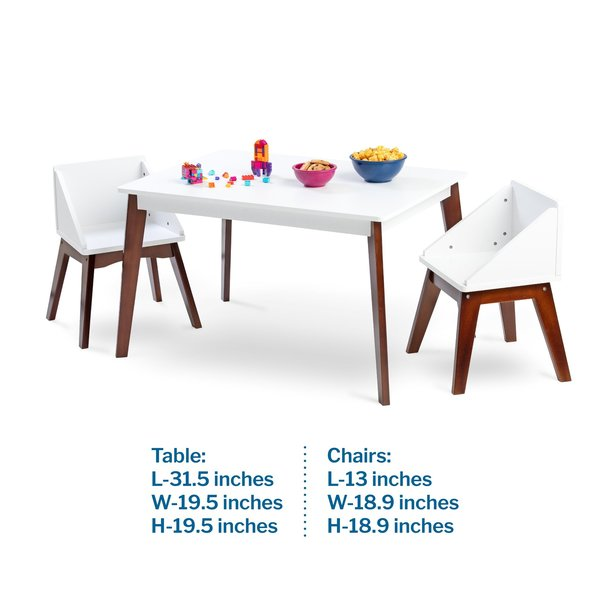 Wildkin Modern Table & Club Chair Set