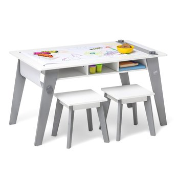Wildkin Rectangular Arts & Crafts Table and Stool Set
