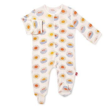 Magnificent Baby Magnetic Me: Magnetic Footie - Sol Mates (Modal)