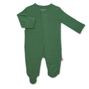 Magnificent Baby Magnetic Me: Magnetic Footie - Solid Emerald (Modal)