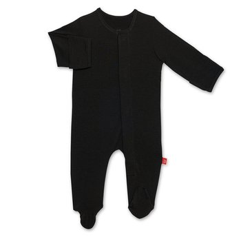 Magnificent Baby Magnetic Me: Magnetic Footie - Onyx (Modal)