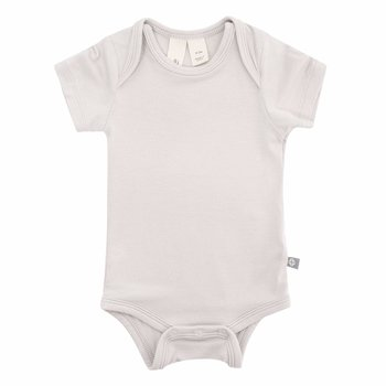 Kyte Clothing Kyte: Short Sleeve Onesie - Oat