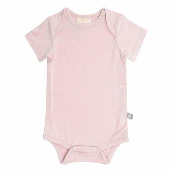 Kyte Clothing Kyte: Short Sleeve Onesie - Blush